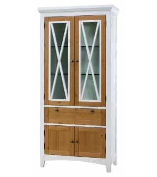 Salon AVIGNON 12 Witryna 4-drzwiowa z 1 szufladą - Meble Wanat