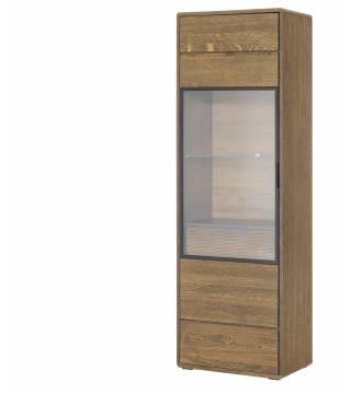 Bellis 10 Witryna 1-drzwiowa z 1 szufladą wewnętrzną lewa - Meble Wanat
