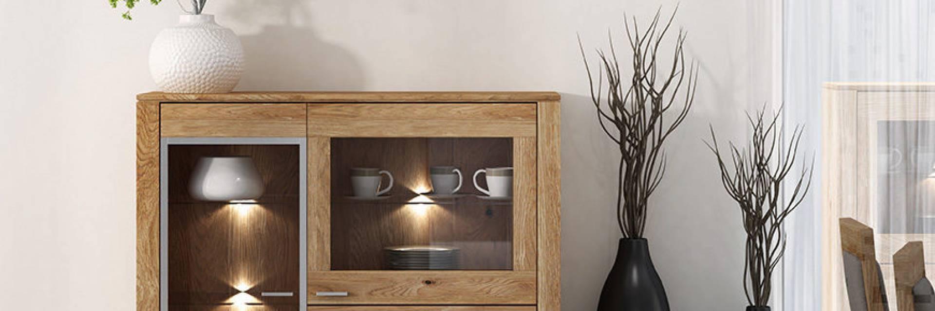 Kolekcja Mebli Chantal z Litego Drewna