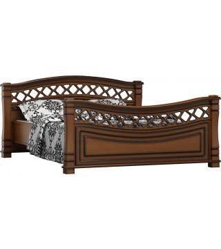 Sypialnia Fala łóżko - Meble Wanat