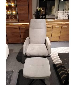 Fotel Bova z podnóżkiem -30% - Meble Wanat