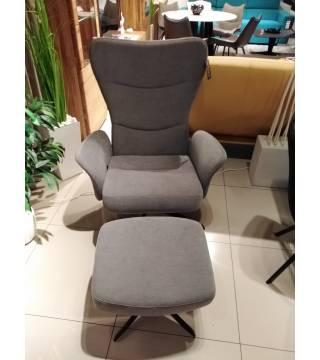 Fotel Fusion z podnóżkiem -30% - Meble Wanat