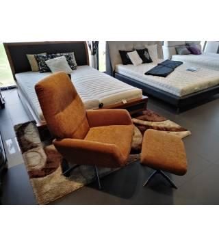 Fotel Monza z podnóżkiem -30% - Meble Wanat