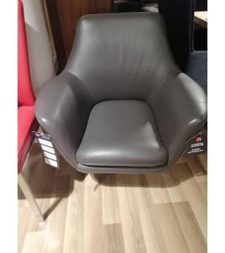 Fotel SALSA obrotowy wykonany w skórze -20% - Meble Wanat