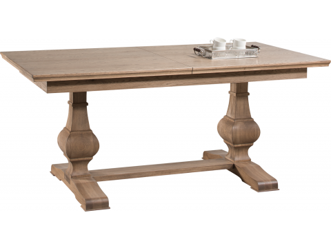 Klasyczny Stół Atelie ATE.071.01 z Drewna Naturalnego