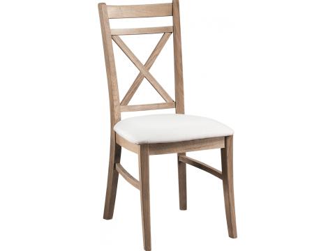 Krzesło Atelie ATE.110.01 z Naturalnego Postarzanego Drewna