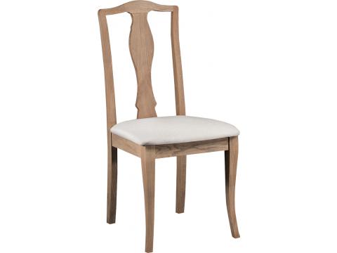 Krzesło Atelie ATE.111.01 z Naturalnego Postarzanego Drewna