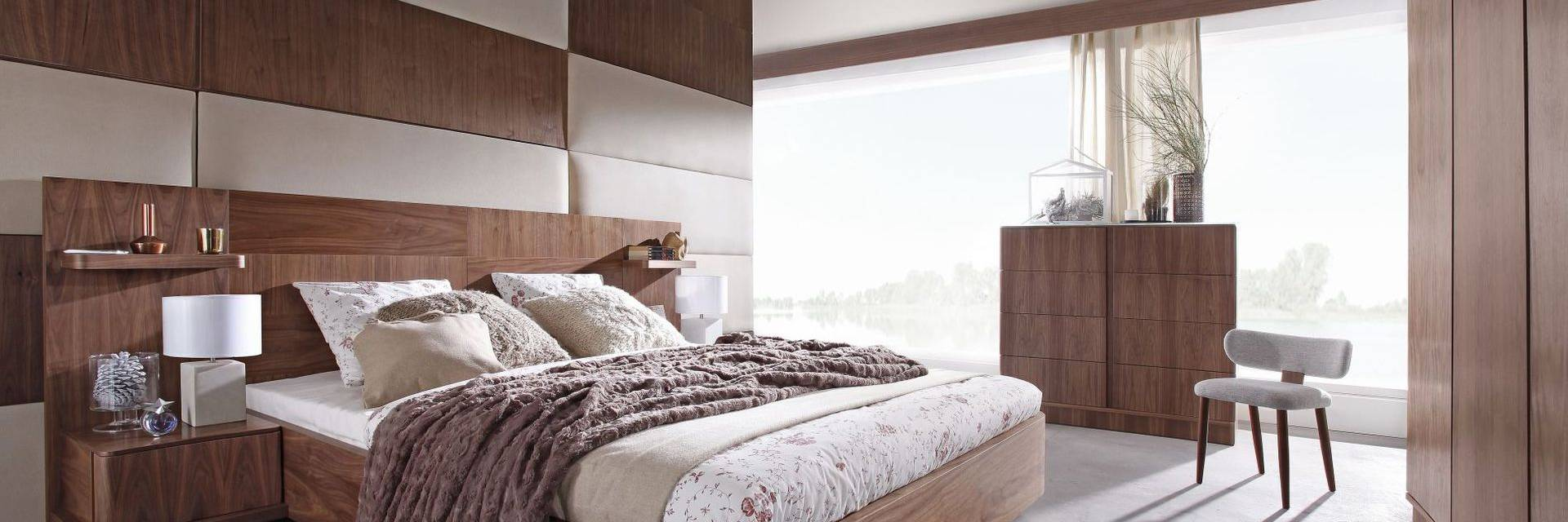 Kolekcja Drewnianych Mebli do Sypialni Ovo
