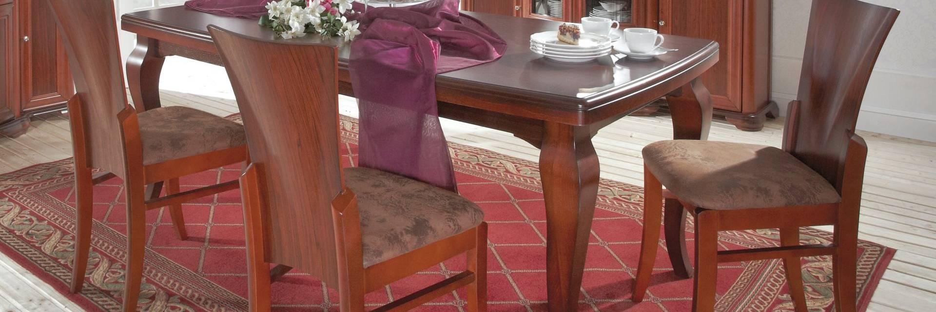 Kolekcja Mebli Diament do Salonu z Litego Drewna