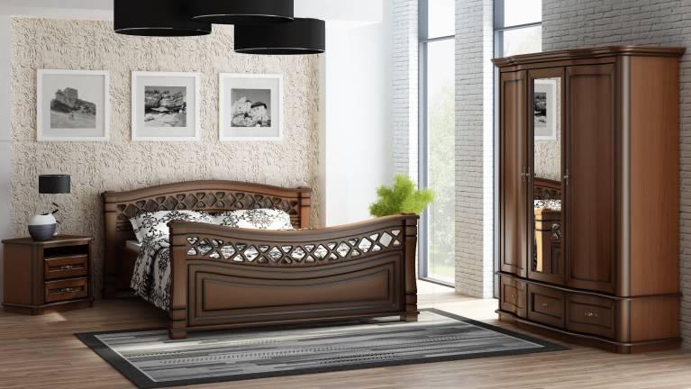 łóżka Klasyczne Meble Wanat