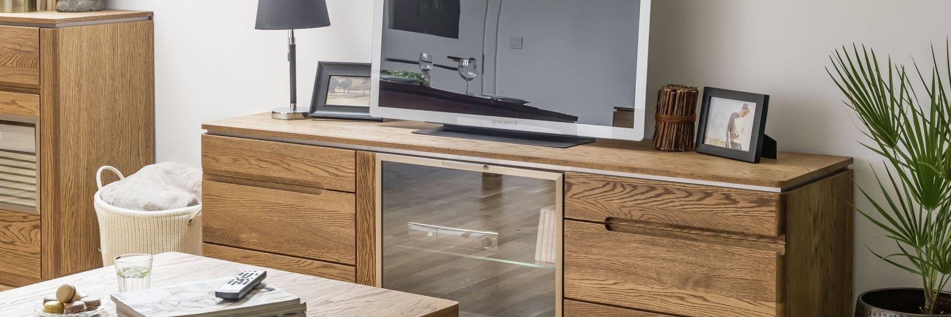 meble nowoczesne do Salonu z Litego Drewna Montenegro