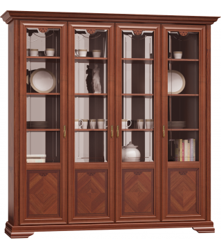 Salon Milano biblioteka 4D - Meble Wanat