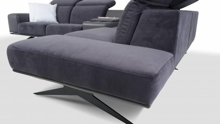 Nowoczesne Narożniki Sofy Fotele | Narożnik VENAFRO