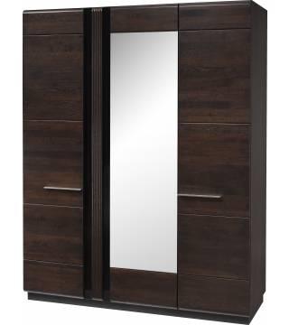 Porti 73 Szafa 3-drzwiowa z lustrem - Meble Wanat