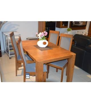 Stół Bergamo z krzesłami -30% - Meble Wanat