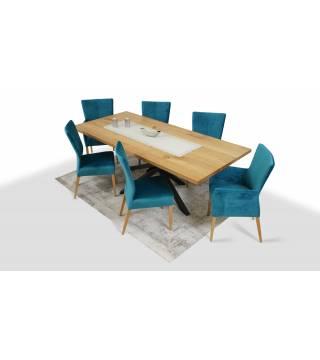 Stół Flash + Krzesła Kenya - Meble Wanat