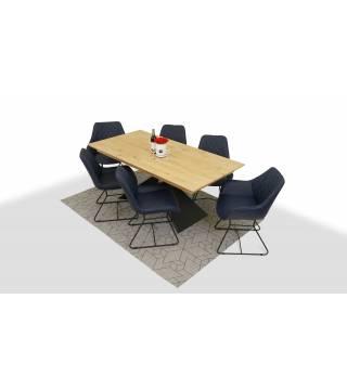 Stół OSUNA + Krzesła FEBO - Meble Wanat