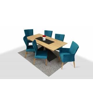 Stół Osuna + Krzesła Kenya - Meble Wanat