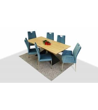 Stół OSUNA + Krzesła MILEO - Meble Wanat