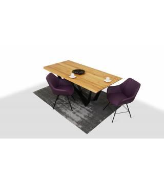 Stół Sparkler + Fotele LUGO 2 - Meble Wanat