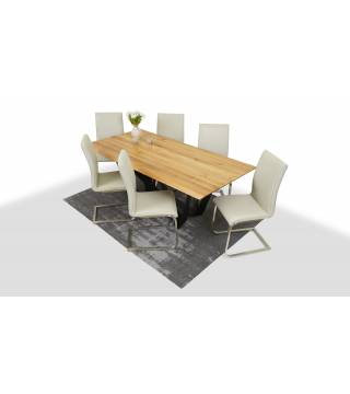 Stół Sparkler + Krzesła LAYLA - Meble Wanat