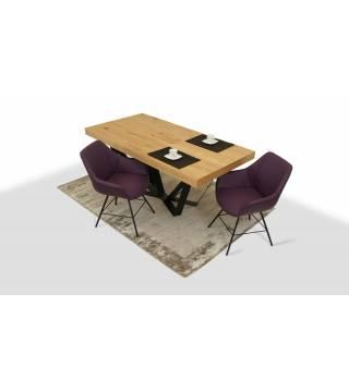 Stół SUSA + Fotele LUGO 2 - Meble Wanat