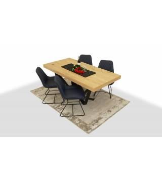 Stół SUSA + Krzesła FEBO - Meble Wanat