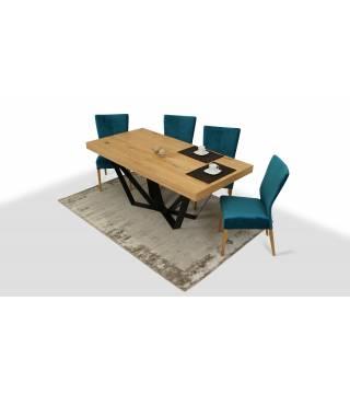 Stół SUSA + Krzesła KENYA - Meble Wanat