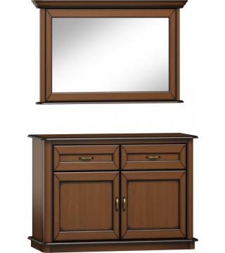 Stylowa lustro L2D + komoda K2D2S - Meble Wanat